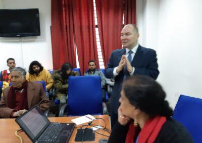 Dr K Zajączkowski w New Delhi (2)