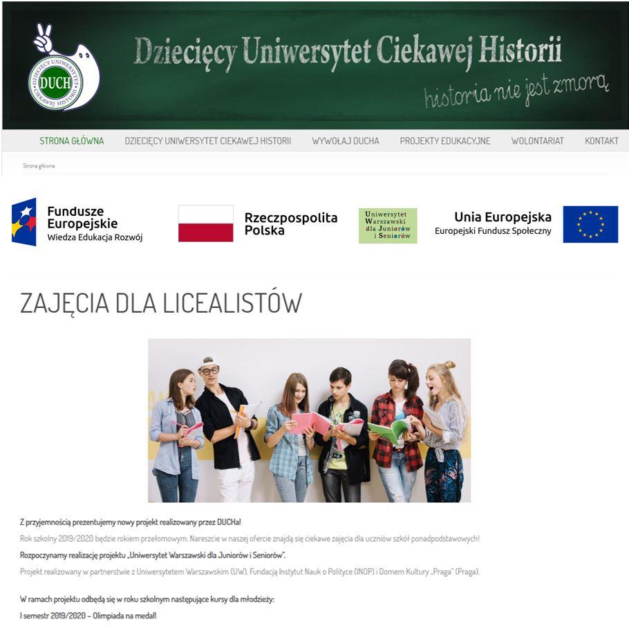 Dzialania Info3 Duch