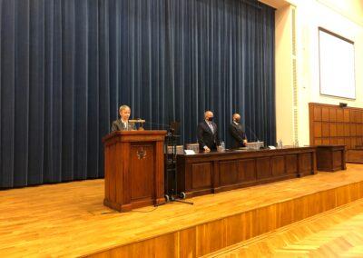 Immatrykulacja prowadzona przezDyrektor ds.Kształcenia drAnnę Ogonowską