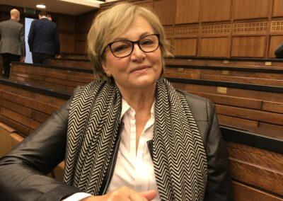 Mgr Anna Wleciał – dyrektor Studium Wychowania Fizycznego iSportu UW, Senator UW