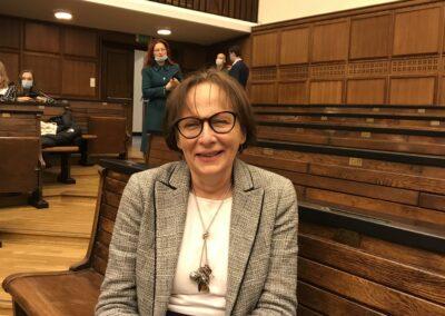Prof. Małgorzata Karpińska – Dziekan Wydziału Nauk oKulturze iSztuce UW