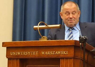 Wykład inauguracyjny JM Rektora UW Prof.Alojzego Z. Nowaka