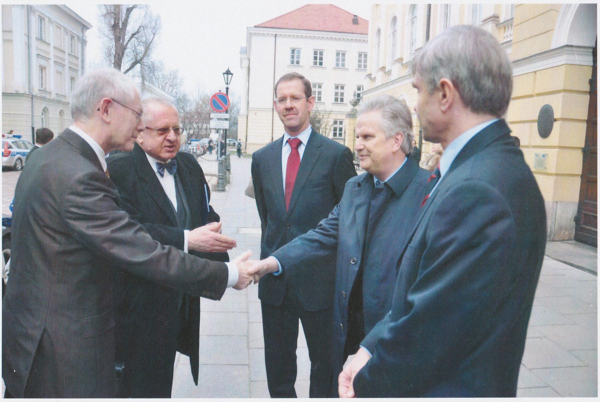 Wizyta przewodniczącego Rady Europejskiej,