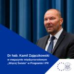 Nowe Aktywności Medialne DrHab. Kamila Zajączkowskiego